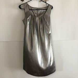 Trina Turk silver tank sheath dress size 4